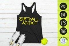 Softball Bundle Vol 1 | Set of 9 | SVG DXF EPS PNG Product Image 4
