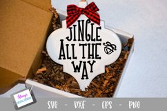 Christmas Ornament Bundle - 6 Arabesque Ornament SVG Designs Product Image 4
