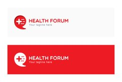 Health Forum - Call Out Iconic Symbol Stock Logo Template Product Image 2