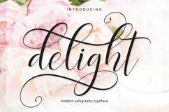Delight Script | 4 Font Product Image 3
