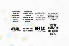 Law Of Attraction Quote SVG Bundle Volume 1 | Manifestation Product Image 3