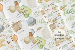 Woodland. Watercolor set. Product Image 4