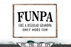 Funpa Funny Grandpa SVG Product Image 1