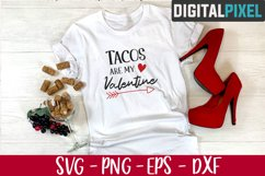 Tacos Are My Valentine Svg, Valentines Day Svg, Valentines Product Image 2