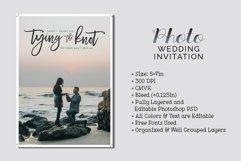 Photo Wedding Invitation Product Image 1