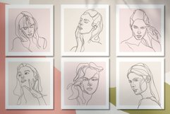 Line Art Woman Portraits Product Image 9
