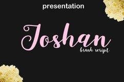 joshan brush script Product Image 1