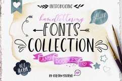 Smooth Handlettering Fonts Collection and Doodles  Product Image 1