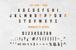 Broscoi - Vintage Font Family - Free font demo link included Product Image 5