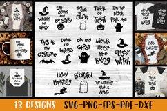 Halloween svg bundle Halloween quotes SVG Halloween bundle Product Image 2