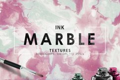 Only Ink & Marble Backgrounds Bundle Product Image 5