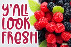 Fruit Of Heaven - A Fun Display Font Product Image 3