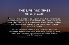 La Pirata - Vintage Tattoo Font Product Image 6