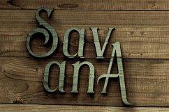 Savana - Display Font Product Image 5