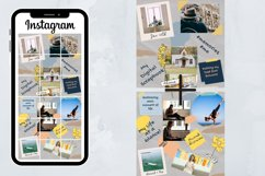 Instagram Puzzle Template Canva- My Scrapbook Product Image 2