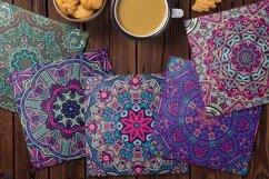 Abstract Boho Festival Mandala Seamless Pattern vol.5 Product Image 3