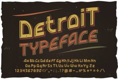 Detroit. OTF and Vector vintage font. Product Image 4