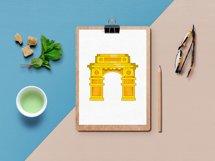 India icons set, cartoon style Product Image 3
