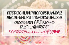 Sweet Lover - A Smooth Hand Lettered Font w/ Doodles by DWS Product Image 2