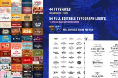 Huge Typographic Pack 60 Logos ! Product Image 2