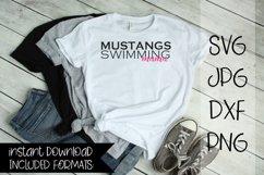 Mustangs Swimming Mama Product Image 1