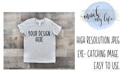 Bella Canvas Mockup / Plain Shirt Mock up / Youth Shirt Product Image 1