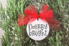 Christmas Stocking - A Hand Lettered Font Product Image 5