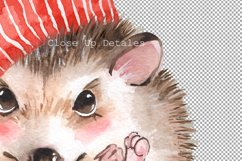 Watercolor hedgehogs Product Image 4