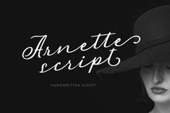 Arnette - Handwritten Script Product Image 1