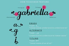 Gabriella - Lovely Script Font Product Image 6