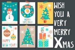Christmas vector flat set Product Image 2