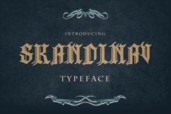 Skandinav Typeface with free illustrator Product Image 1