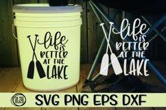 LAKE BUNDLE - 18 DESIGNS - SVG PNG EPS DXF Product Image 6
