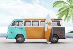 Van With Surfboard Branding Mockup Product Image 2