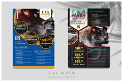 Car Wash Flyer Templates Product Image 1
