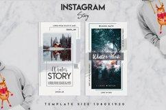 Winter instagram srory set Product Image 4