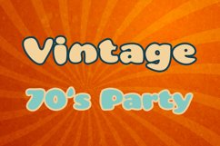 Groovy Disco 70s Font Product Image 4