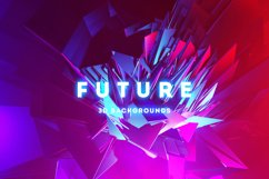 Future - 20 Abstract 3D Backgrounds Product Image 1