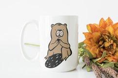 Beaver SVG Cut File Product Image 2