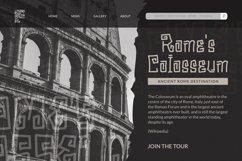 Radeos Font Product Image 5
