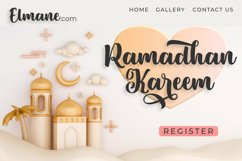 Sweety Renna | A Beautiful Bold Calligraphy Font Product Image 6