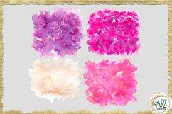 Sublimation BUNDLE Watercolor Pink Purple backgrounds PNG Product Image 3
