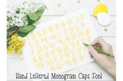 Monogram Hand Lettered Font Product Image 5