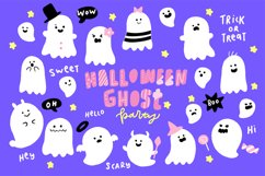 Cute Halloween Ghosts Illustrations Product Image 1
