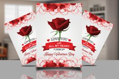 Valentines Psd Template Product Image 1