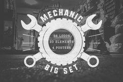 Mechanic and Car Repair Emblems Bundle Product Image 1