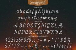Sunderland - Smooth script font Product Image 2