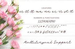 Web Font Angel Rose   An Elegant Monoline Font Product Image 3