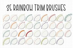 56 Brushes, Rainbow Procreate Brush/Stamp Bundle Product Image 4