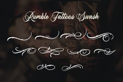 Rumble Tattoos - Tattoos Typeface Product Image 6